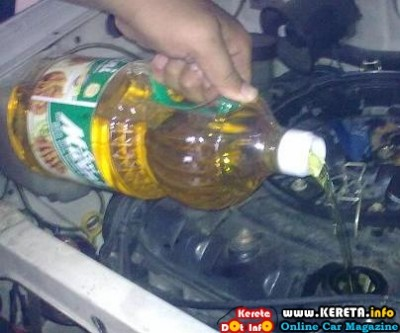 KDI TEST & REVIEW - USING COOKING OIL AS ENGINE OIL