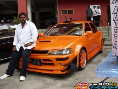 MODIFIED TOYOTA COROLLA - KEVIN ANTERA