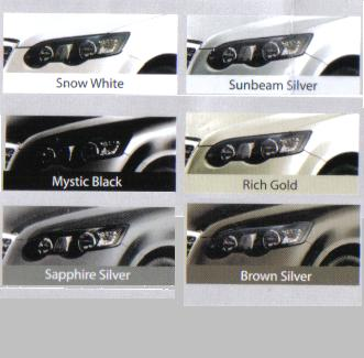 CHERY EASTAR SPECIFICATION