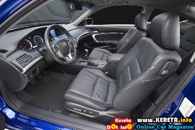2011 Honda Accord Coupe Interior View