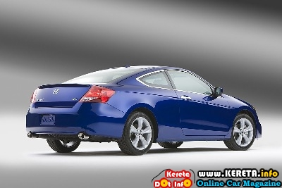 2011 Honda Accord Coupe Rear Side View