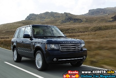 2011 Land Rover Range Rover Front Side View