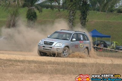 CHERY PARTICIPATION IN WMK MAM-SIC RALLY X SERIES