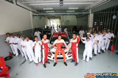 Honda Malaysia Racing Team (HMRT) ONCE AGAIN RISES TO THE CHALLENGE FOR MME RACE 2010