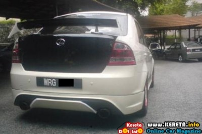 MODIFIED PROTON SAGA BLM BMW SAGA Lexus 400x267