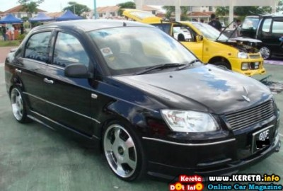 MODIFIED PROTON SAGA BLM BMW SAGA Vip 400x270