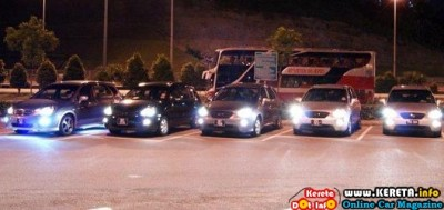 NAZA KIA RONDO MEET UP AT AWAN BESAR RNR