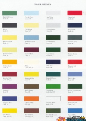 CAR PAINTING - WHICH PAINT COLOUR & TYPE DO YOU LIKE?