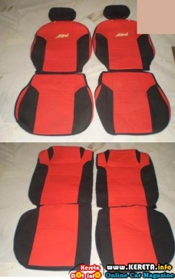CAR SEAT COVER FABRIC CUSHION PVC SEMI LEATHER LEATHER 6 251x400