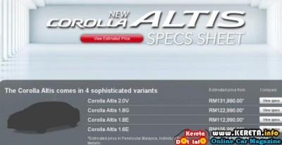 New Toyota Corolla Altis Dual VVT i 4 400x206