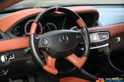 2010-Mercedes-Benz-CL65-AMG-Black-Edition-Steering-Wheel-View