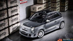 2011-Fiat-500C-Abarth-esseesse-Front-Side-Top-View