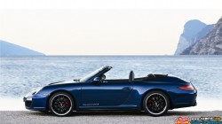 2011-Porsche-911-Carrera-GTS-Cabriolet-Side-View