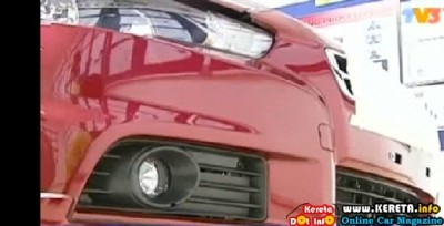 ANOTHER REAL IMAGES OF PROTON NEW SEDAN WAJA LANCER