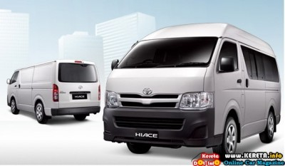 NEW TOYOTA HIACE FACELIFT COMMERCIAL VAN 400x233