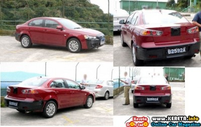 UPDATE ANOTHER REAL IMAGES OF PROTON NEW SEDAN WAJA LANCER