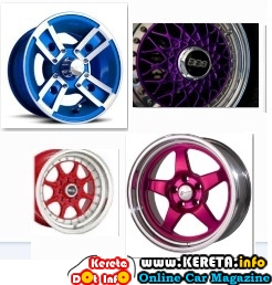 CAR SPORT RIMS COLOUR - WHICH ONE?