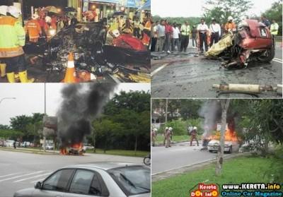 KERETA TERBAKAR - WHY CAR BURNED?