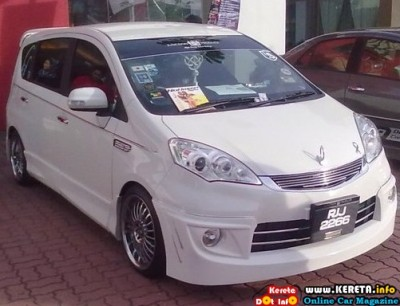 MODIFIED PERODUA ALZA MPV VIP STYLE CUSTOM BODYKIT