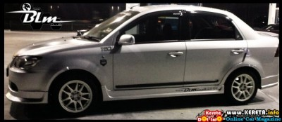 MODIFIED PROTON SAGA BLM SILVER