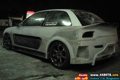 SUPER EXTREME CUSTOM WIDE BODY KIT MODIFIED SATRIA 2 400x267