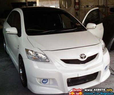 TOYOTA VIOS NEW CUSTOM BODYKIT 1 400x332