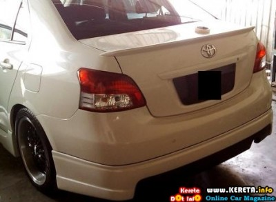 TOYOTA VIOS NEW CUSTOM BODYKIT