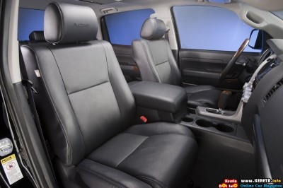 2011 toyota tundra crewmax platinum package seats view 400x266