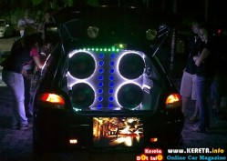 EXTREME AUDIO & LIGHTING SHOW OFF - MODIFIED SATRIA