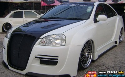 MODIFIED CHEVROLET OPTRA FREE STYLE EXTREME