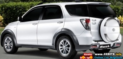 NEW TOYOTA RUSH FACELIFT IN MALAYSIA