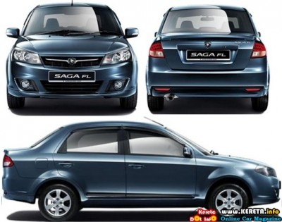 PROTON NEW SAGA FL FACELIFT STANDARD & EXECUTIVE - SPECIFICATION + PRICE