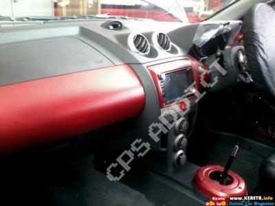 PROTON SATRIA NEO R3 RS interior
