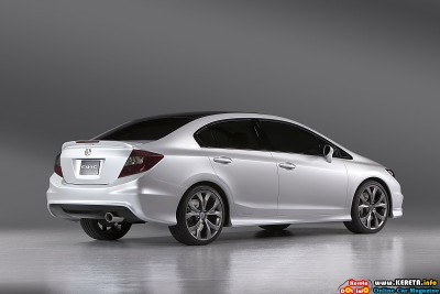 2011 honda civic concept rear side view 400x267