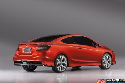 2011 honda civic si concept rear side view 400x266