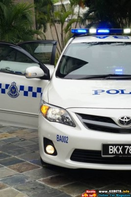 ANOTHER PDRM VEHICLE COROLLA ALTIS POLIS