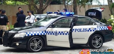 ANOTHER PDRM VEHICLE TOYOTA CAMRY POLIS