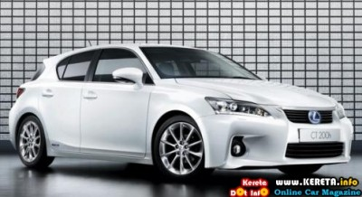 Lexus Ct 200h Will Be Priced At Rm168 000 And 196 500