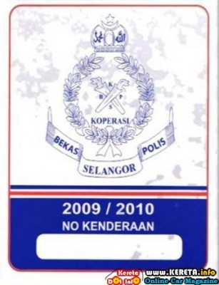 PDRM CAR STICKER REALLY CAN SAVE YOU?