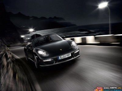 2012 PORSCHE BOXSTER S BLACK EDITION. Porsche introduces a new,