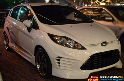 FORD FIESTA custom bodykit 400x263