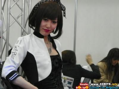 OSAKA AUTOMESSE AUTOSHOW GIRL