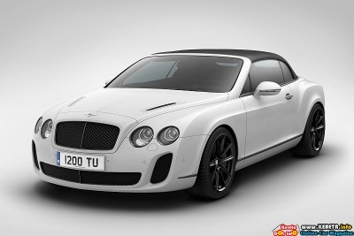 2011 BENTLEY SUPERSPORTS ICE-SPEED EDITION + 2011 HPE600
