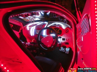 EXTREME MODIFIED PERODUA MYVI SCISSORS DOOR