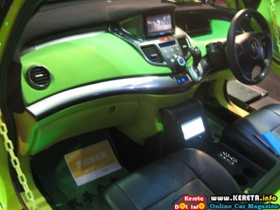 MODIFIED HONDA ODYSSEY INTERIOR