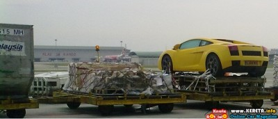 IMPORTING CAR BY AIR CARGO AIRCRAFT