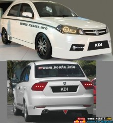 SAGA BLM FL FACELIFT CONCEPT KDI BODY KIT SKIRTING FL NEW