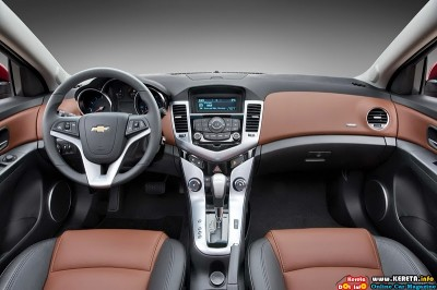 2011 chevrolet cruze interior view 400x266