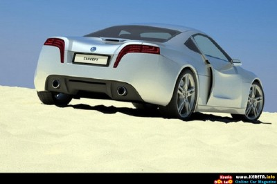 2011 steel drake volkswagen concept sports car by kyrgyzstanian rear angle view 400x266