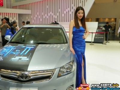 HOTTEST CHINA AUTO SHOW GIRL